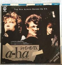 "1985 A-HA The Sun Always Shines On TV 7"" Japan Vinyl EP Record F/S"
