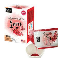 Korean sweet and sour tea omija tea Schizandra Fruit Tea 10pcs (Lipuid tea)