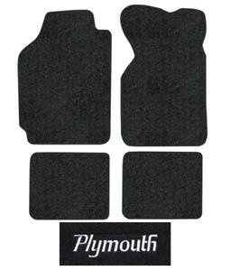 1989-1995 Plymouth Acclaim Floor Mats - 4pc - Cutpile