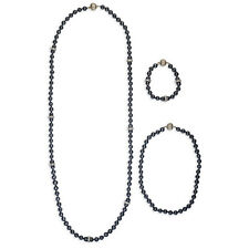 Chloe And Isabel Jet Black Glass Convertible Necklace NWT