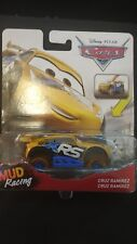 Cars disney 1:55 mattel cruz ramirez mud racing xrs die cast