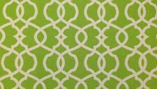 """MAGNOLIA HOME EMORY LEAF LIME GREEN TRELLIS FURNITURE FABRIC BY THE YARD 54""""W"""