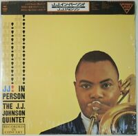 J.J. Johnson Quintet J. J. In Person! CBS/Sony 20AP 1499 OBI JAPAN VINYL LP JAZZ