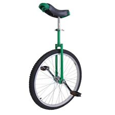 "24"" Wheel Unicycle Uni Cycle Balance Fun Bike Fitness Scooter Circus Adult Green"