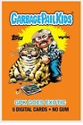 GPK Goes Exotic Tiger King TK WAX NFT Digital 5-Card Pack Garbage Pail Kids