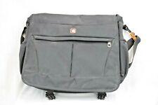 Swiss Gear by Wenger Black Messenger Laptop Bag 15 x 10 x 4 T068