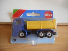 Siku Mercedes Dump truck in Blue/Yellow on Blister