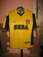 ARSENAL LONDON Football Club Nike Away 1999/00 Jersey/Shirt size S