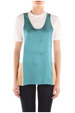 GENUINE Women's Prada White and Peacock T Shirt Top Size M BNWT RRP £395