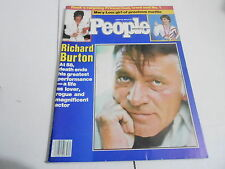 AUG 20 1984  PEOPLE magazine (NO LABEL) UNREAD - RICHARD BURTON