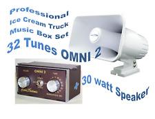 Ice Cream Truck, Van Music Box - Omni 2 & Matching 25 Watt All Weather Speaker