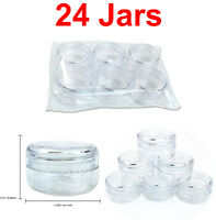 24 Pieces 15 Gram/15ML High Quality Lotion Cream Cosmetic Sample Jar Containers