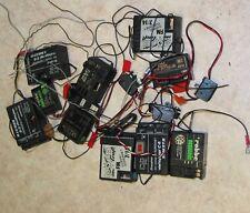 Lot liasse Télécommande Récepteur Receiver RX phoque, Futaba, Graupner, etc.