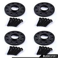 """5x114.3 (4) 10mm for Honda CR-V CR-Z HR-V FR-V Black Wheel Spacer 5x4.5"""" CB64.1"""