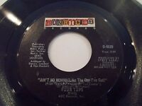 Four Tops Ain't No Woman Like The One I Got / Good Lord Knows 45 Vinyl Record