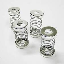 4 pièces flexible siège Appui-tête réglage ressort couleur argent pour vechicles