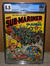 Sub-Mariner Comics #1 CGC 5.5 Timely Marvel 1941 Key Golden Age! D5 H10 cm
