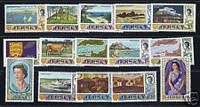 Gb Jersey 1969 definitives complete Vf Mlh