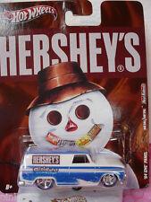 2011 HERSHEY'S Miniatures '64 GMC PANEL❀White❀real riders❀Hot Wheels NOSTALGIA