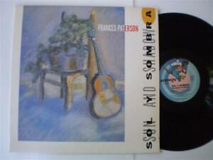 "FRANCES PATERSON LP - ""SUN & SHADOW"" (SOL Y SOMBRA) - OZ INDIE LATIN JAZZ - 1987"
