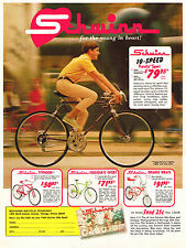 1960s Schwinn Ad for Typhoon, Varsity, Collegiate & Orange Krate 8  x 10 Print