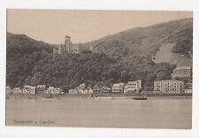 Germany, Stolzenfels u. Capellen Postcard, A576