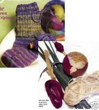 Spin-off magazine summer 2007: self-striping, coiled basket