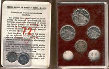 1972 Proof carterita oficial España F.N.M.T. @ FRANCO @