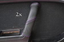 Se adapta a Mazda Rx7 fc3s 2x Manija De Puerta cubre púrpura Stitch