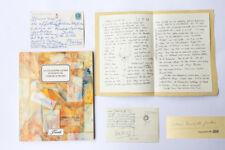 LA COLLEZIONE JUCKER - 1992 + 2cartoline fam. Jucker + copia lettera Paul Klee