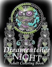 Adult Coloring Book Dreamcatcher Night - Coloring Book for Relax by Art You