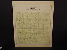 Wisconsin, Dane County Map, 1899 O2#10 Perry Township