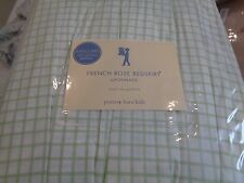 "Pottery Barn Kids French Rose bedskirt bed skirt 14"" drop King with tags"