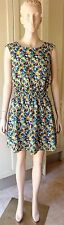 American Apparel CUT-OUT SCHOOL GIRL Floral DRESS  Casual Size-M/L