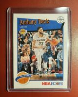 2019-20 NBA 🏀 PANINI HOOPS ANTHONY DAVIS TRIBUTE CARD for the LA LAKERS (Nice).