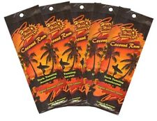 5 Packets of Ultimate Happy Hour Coconut Rum Tanning Lotion Accelerator