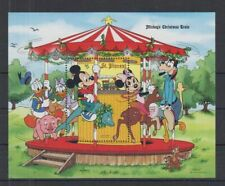R408. St Vincent - MNH - Cartoons - Disney's - Mickey's Christmas Train