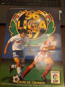 EDICIONES ESTE 96 97 ALBUN ALBUM MUY COMPLETO LIGA FÚTBOL 1996