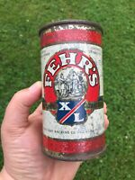 Fehr's X/L Beer Flat Top Can w/Commonwealth of Kentucky Seal Frank Fehr Brewing