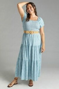 Daily Practice by Anthropologie Tiered Maxi Dress size XL new