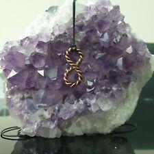Tensor Anillo Infinito Infinity Corazón Colgante Collar de 144 Mhz Orgón sagrado Cubit