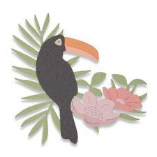 Sizzix Thinlits TROPICAL BIRD 662544  Sophie Guilar Stanzschablone
