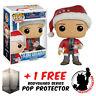 FUNKO POP CHRISTMAS VACATION CLARK GRISWOLD #242 VINYL FIGURE + POP PROTECTOR