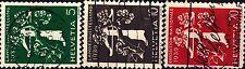 SVIZZERA - 1939 - Esposizione nazionale di Zurigo, iscrizioni in tedesco (II)