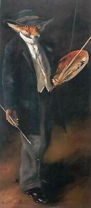 'The Portrait Painter' by Mick Cawston