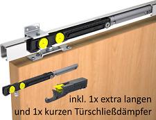 Schiebetürbeschlag Mantion SAF80A Sanfteinzug lange Dämpfung 2mtr 80kg Softclose