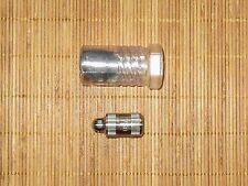 Titanium micro keychain waterproof capsule cache GOVT OVERRUN - TINY! NEW