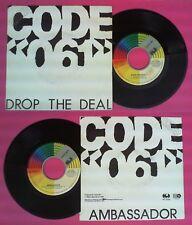 LP 45 7'' CODE 061 Drop the deal Ambassador 1987 italy CGD INT10795 no cd mc dvd