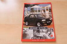83850) Suzuki Grand Vitara + Cabrio Prospekt 09/1999