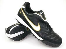 release date: efe1a 7168f Nike Mens Rare Tiempo Mystic lll TF 366183-018 Black Indoor Soccer Shoes  Size 7